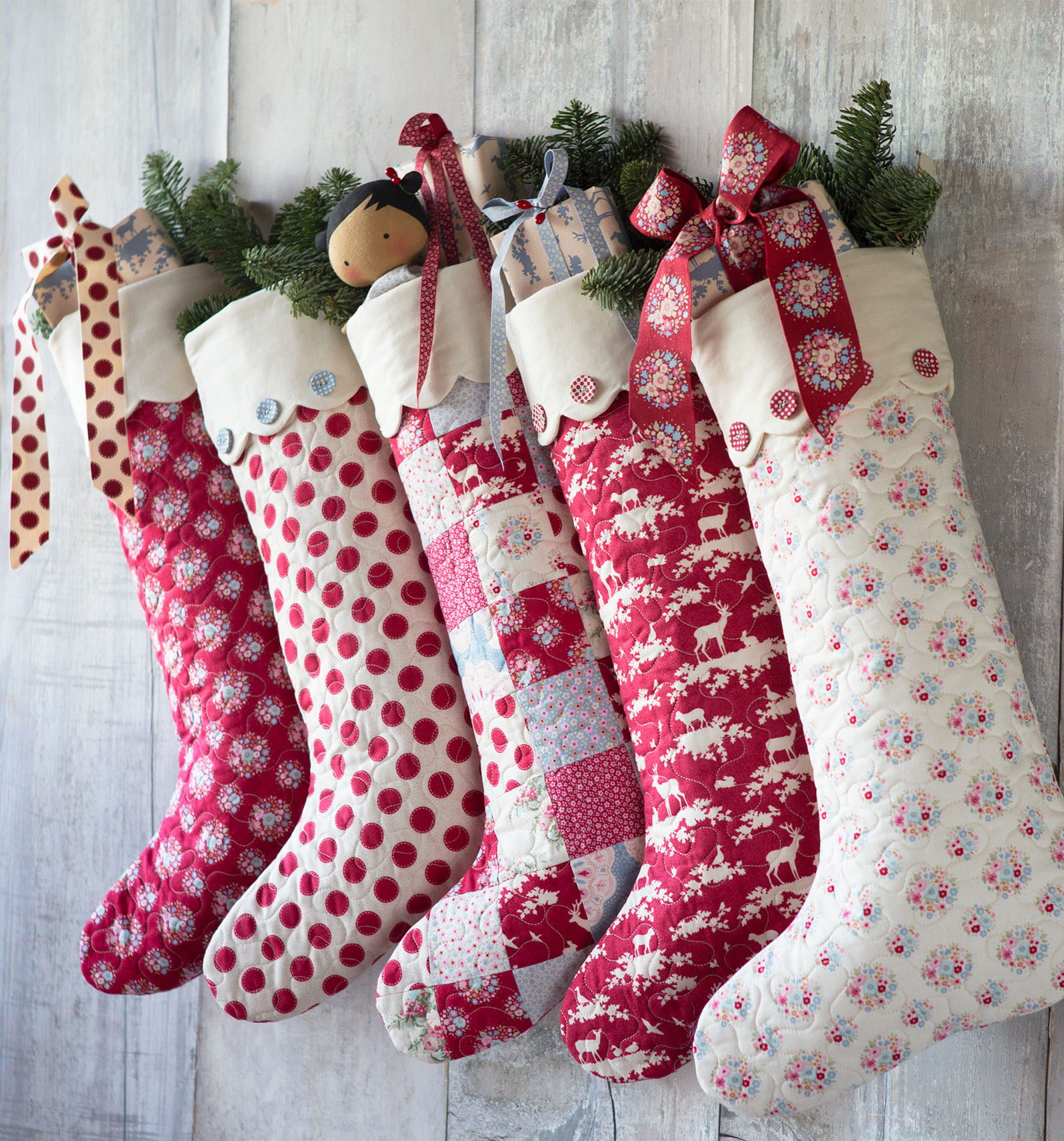 Patterns For Christmas Stockings Custom Design Ideas